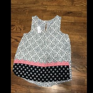 Maurices Tops - Maurices tank top. Pleated back. Medium. NWT